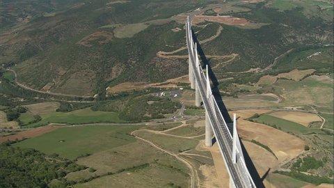 AERIAL France-Millau Viaduct 2006: Millau bridge