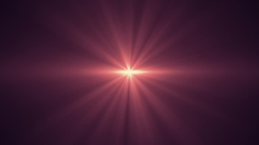 red sun star rays lights optical lens flares shiny animation art background - new quality natural lighting lamp rays effect dynamic colorful bright video footage