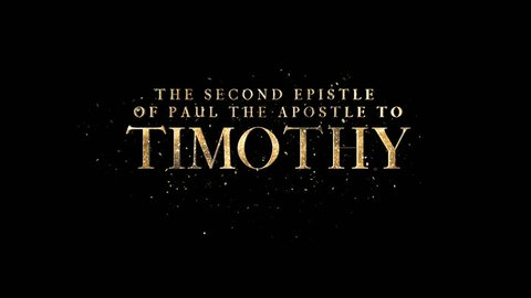 The Second Epistle Of Paul The Apostle To Timothy