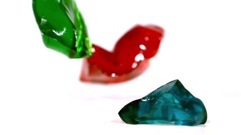 video of gelatin cubes