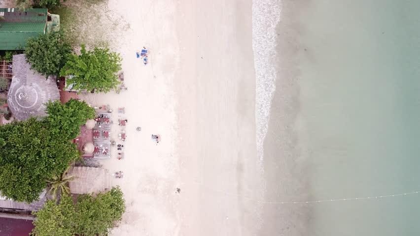 Surf on the beach in Koh Lanta Krabi Thailand Footage   Shutterstock HD Video #1006870747