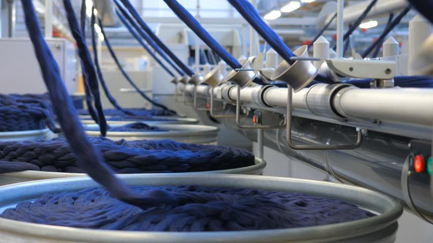 Industrial textile factory | Shutterstock HD Video #1007054617