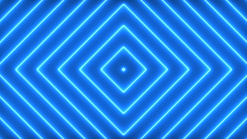 Blue Lights with Glowing Rectangles. Animation on Black Background, Rectangles. Transition. Seamless Loops. | Shutterstock HD Video #1007065597