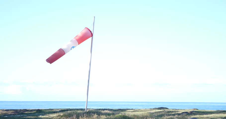 Inflated Air Sleeve Windsock Show Direction Of Wind