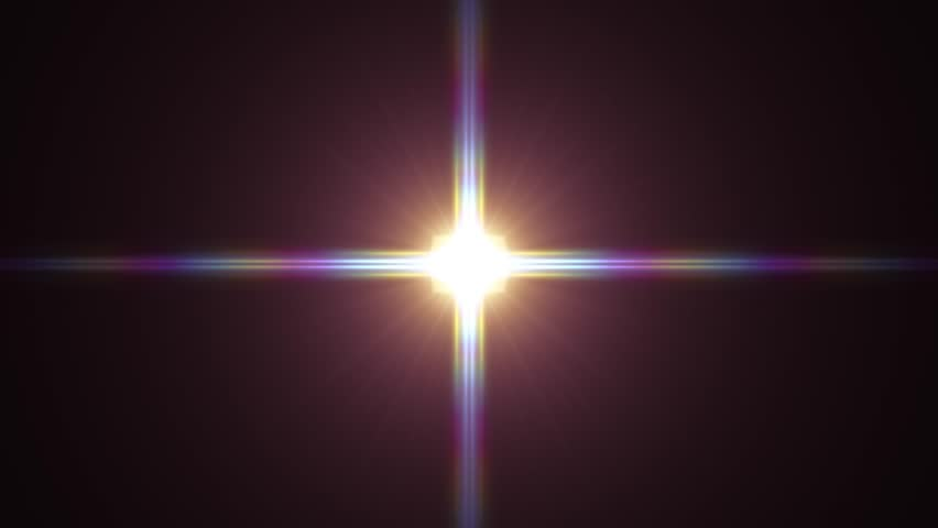 Center flickering star sun lights optical lens flares shiny animation art background loop new quality natural lighting lamp rays effect dynamic colorful bright video footage | Shutterstock HD Video #1007275117