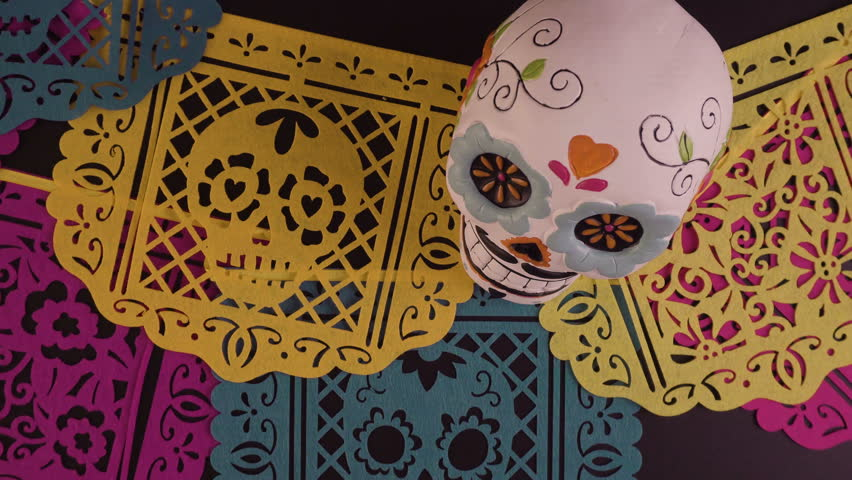 mexican paper banners Make a papel picado banner papel picado (perforated paper) is the mexican art of paper cutting into elaborate designs the designs are commonly cut from tissue paper.