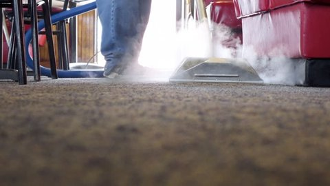 Commercial carpet and tile steam cleaning service business
