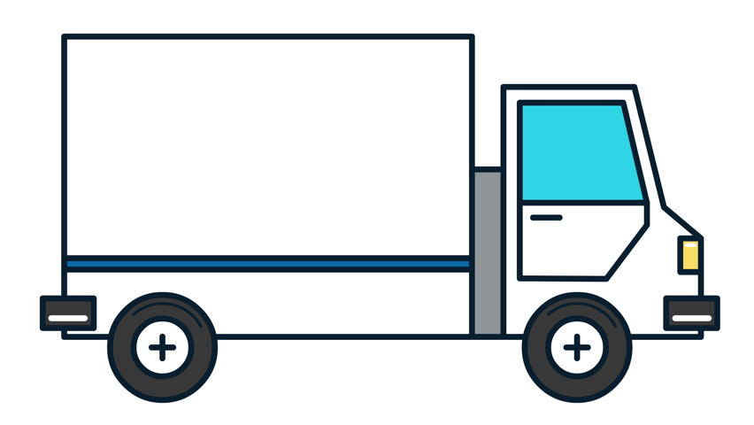 Delivery truck animation | Shutterstock HD Video #1007521867