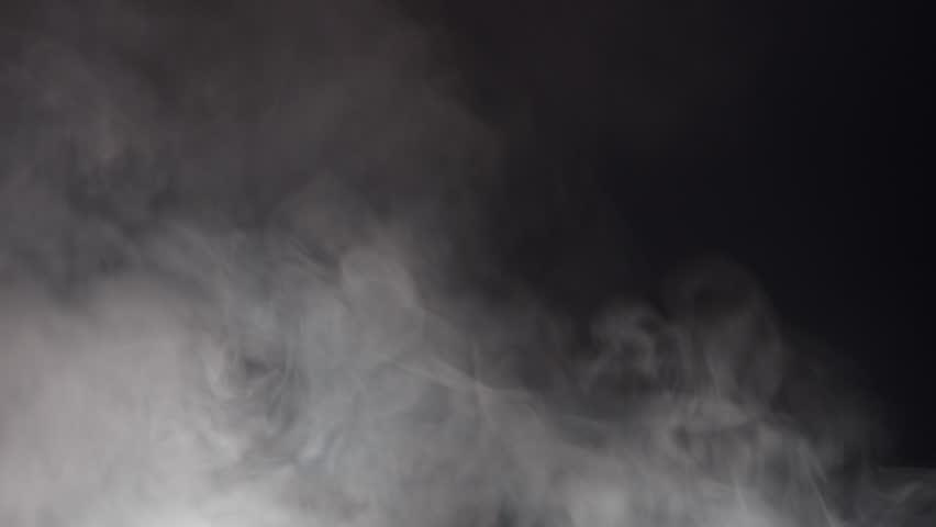 Blue Swirling Smoke Lit From Below | Shutterstock HD Video #1007540167