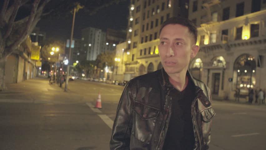 Walking at night | Shutterstock HD Video #1007648353