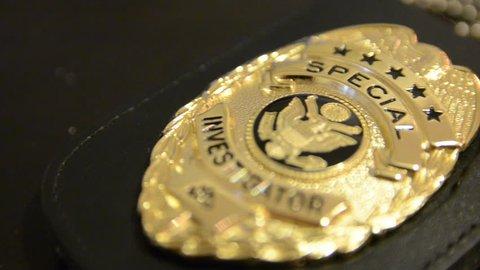 Special Investigator Shield