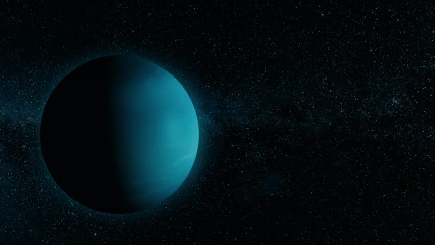 Picture of neptune in the solar system