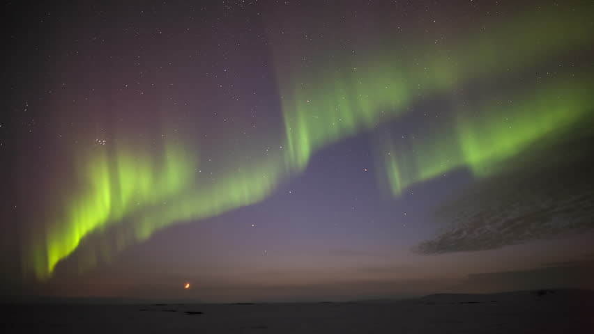 Northern Lights in Iceland | Shutterstock HD Video #1007809837
