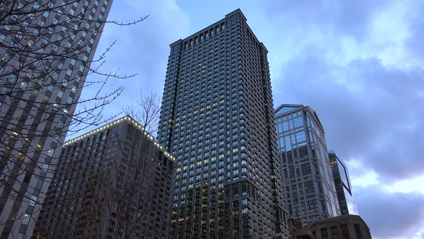 leo burnett office moscow. Stock Video Of Chicago Skyscrapers In The \u0026quot;loop\u0026quot; | 10080197 Shutterstock Leo Burnett Office Moscow
