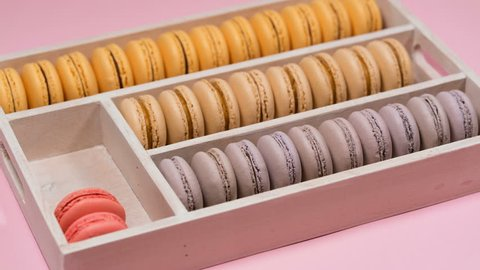 macarons appear in the box