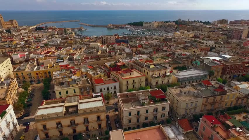 Trani is a seaport of Apulia, in southern Italy, on the Adriatic Sea. West-Northwest of Bari
