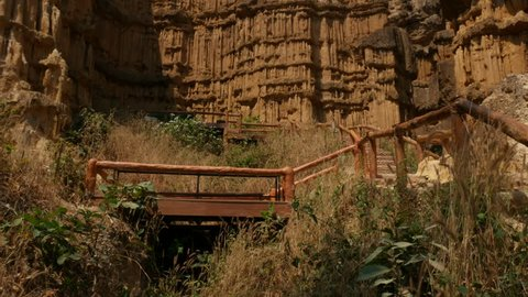 Pha chor canyon in Chiangmai Thailand