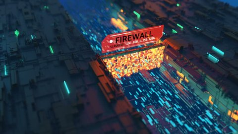 Computer viruses bypassing firewall, system breach, hacking, weak security.  Viruses going through firewall without being caught