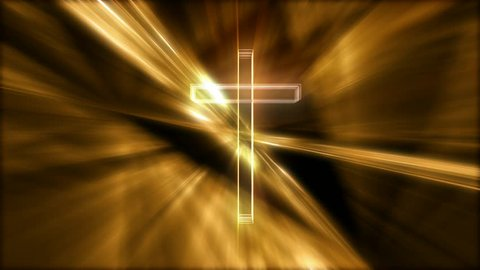 Abstract cross rotating motion background