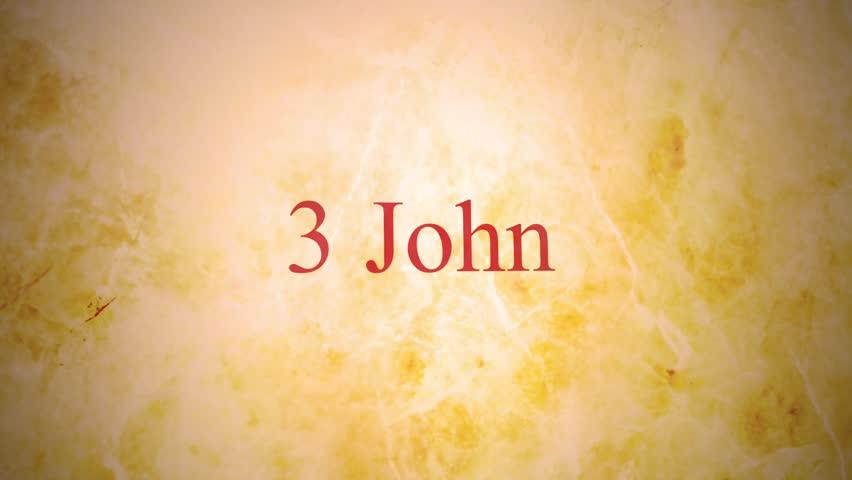 Header of 3 John
