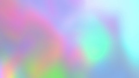 Holographic neon foil looped animation. colorful abstract background