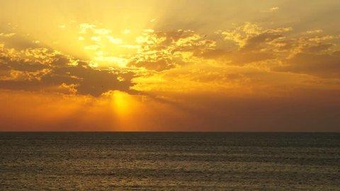 time laps surf Russian Bay at Kazantip Crimea summer evening 2