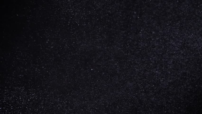 Moving real particles on black background. | Shutterstock HD Video #1008970067
