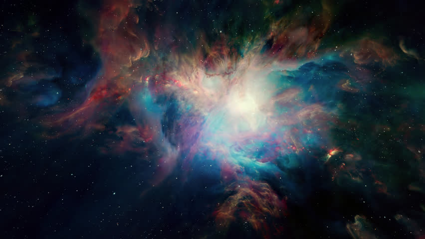 Flying In Orion Nebula 4K is motion footage for scientific films and cinematic in space. Also good background for scene and titles, logos. | Shutterstock HD Video #1009078577