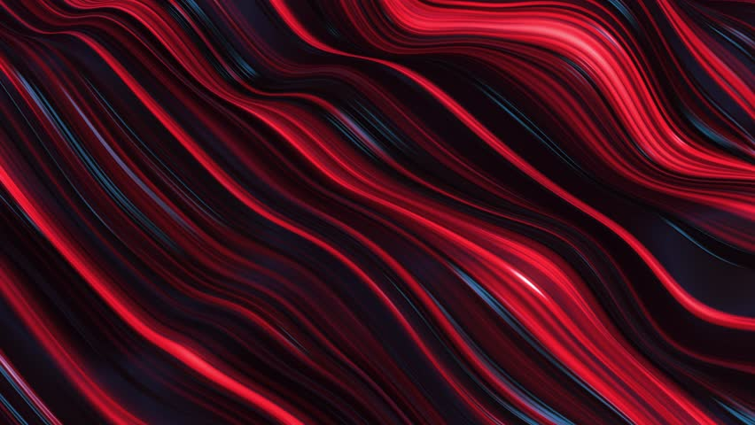 Abstract red neon wave line filed | Shutterstock HD Video #1009186217