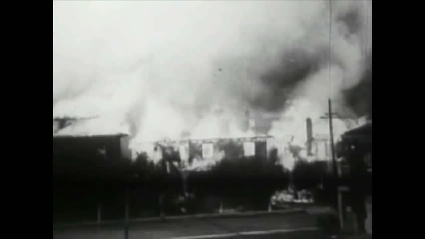 CIRCA 1940s - Footage of the aftermath of the 1906 San Francisco earthquake. | Shutterstock HD Video #1009212887
