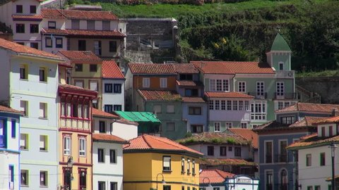 Zoom-out: Homes Near the Slipway of Cudillero