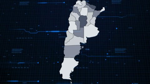 Argentina Network Map