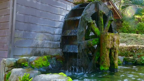 Water mill image