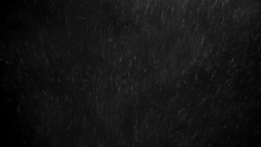 Snow falling on black background | Shutterstock HD Video #1009561997