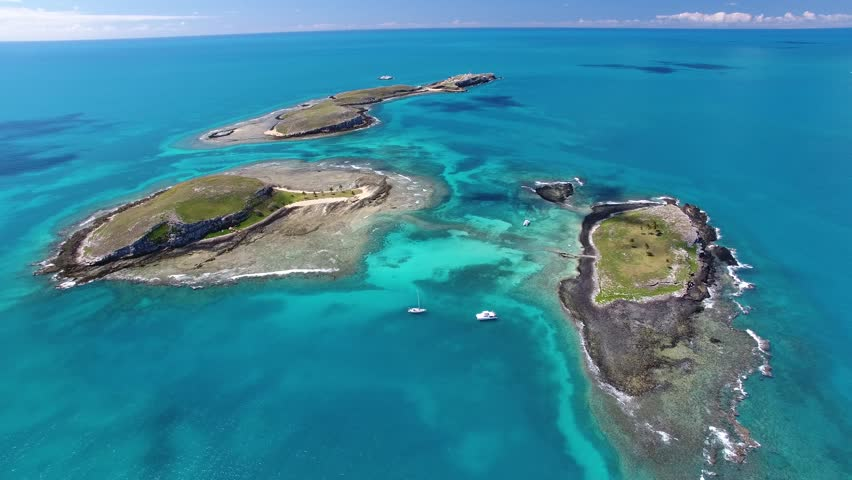 Aerial View of Abrolhos Marine Stock Footage Video (100% Royalty-free)  1009608677 | Shutterstock