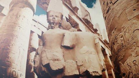 Luxor karnak temple