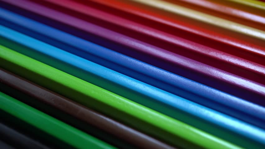 4k Colored Pencils Background | Shutterstock HD Video #1009809737