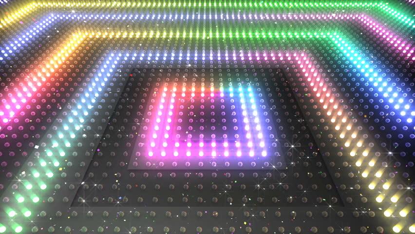 Light illumination disco club Floor and Wall | Shutterstock HD Video #1009847747