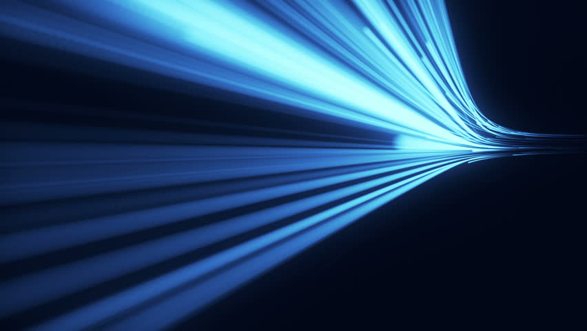 Abstract background with animation moving of lines for fiber optic network. Magic flickering dots or glowing flying lines. Animation of seamless loop. | Shutterstock HD Video #1009855637