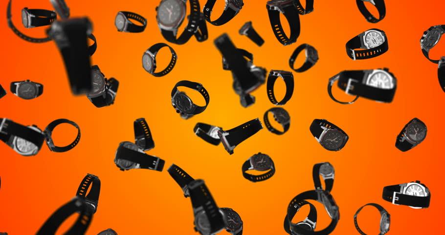 Smartwatch falling loop | Shutterstock HD Video #1009997837