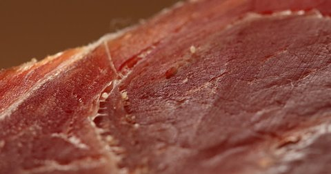 Mite or louse in a ham