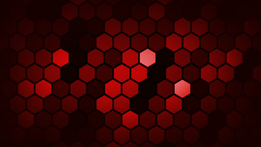 Red Abstract Hexagon/Honeycomb  Background. Seamless Loop. | Shutterstock HD Video #1010066627