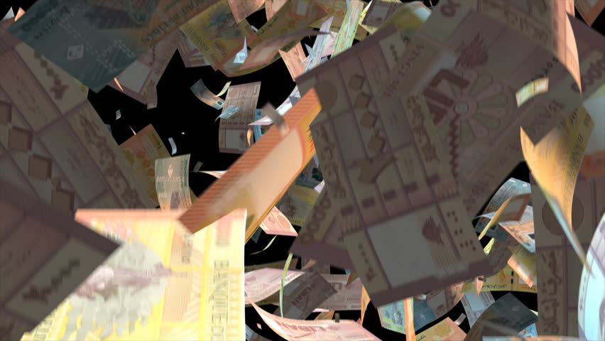 Falling Lebanon money banknotes Video Effect simulates Falling Mixed Lebanon money banknotes with alpha channel (transparent background) in 4k resolution  | Shutterstock HD Video #10103807