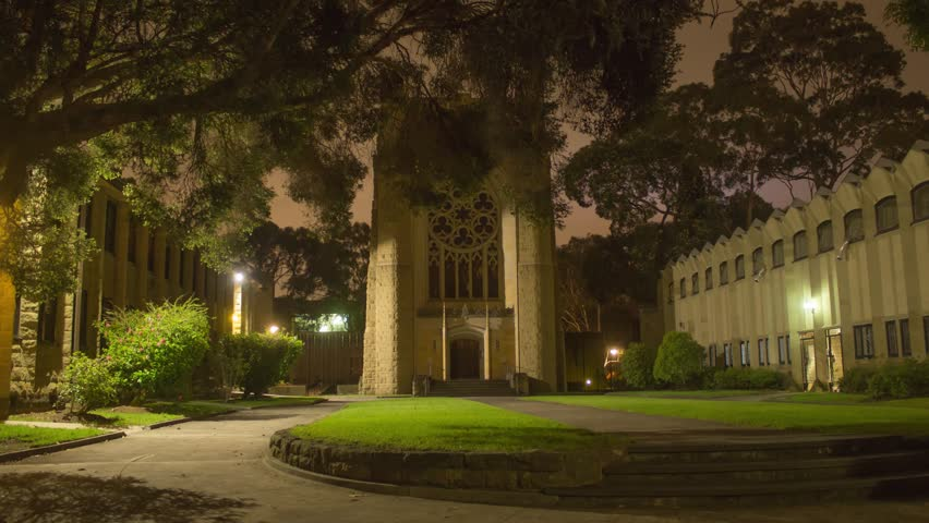 Melbourne University- Newman College, Chapel of the Holy Spirit