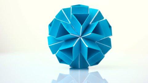 Origami Mini Magic Ball Template - Jadwal Bus