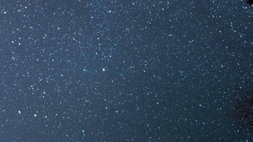 Vertical video. Many stars