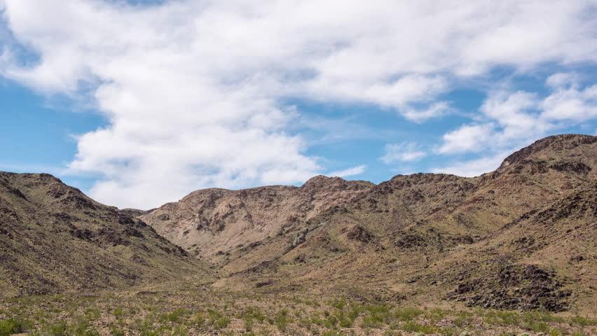 Time Lapse of Scenic Desert Landscape - Mojave National Preserve | Shutterstock HD Video #1010457467
