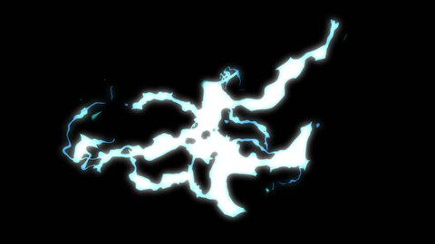 4K Electricity and Lightning 20 Animations with Alpha Channel