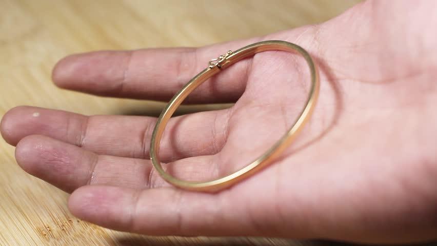 Header of bracelet