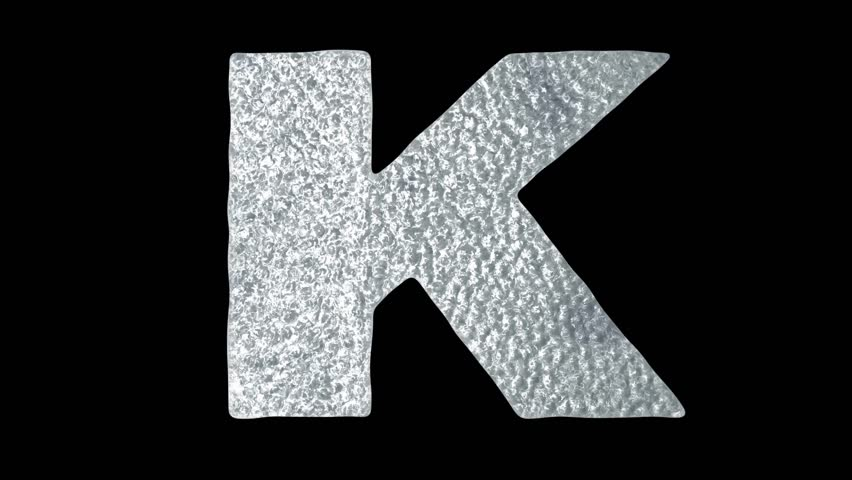 Letter k stock video footage 4k and hd video clips shutterstock 4k0010letter k animated ice water letters concept thecheapjerseys Image collections
